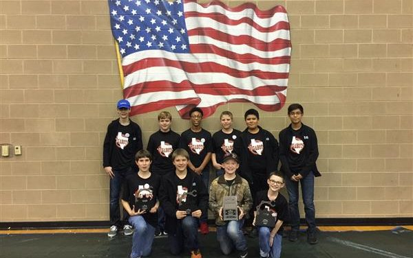 Greenville Middle School Gigabots, Protobots, and SGC Cyborgs Perform Well in Recent Comps