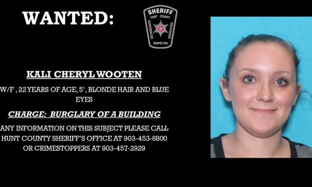 Hunt County Sheriff's Department seeks your help in finding this woman