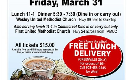 Hunt County Shared Ministries to host BBQ Lunch & Dinner on Friday