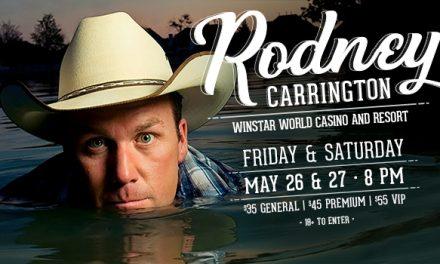 Rodney Carrington at Winstar World Casino and Resort