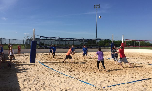 Greenville H.S. Interact Club hosted Volleyball Tournament to raise funds