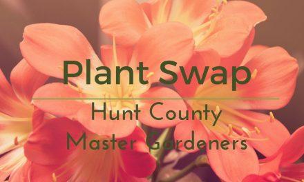 Hunt County Master Gardeners to host plant swap
