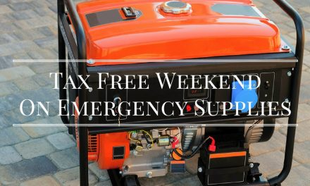 Free Sales Tax Holiday for Emergency Supplies this weekend