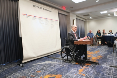 Governor Abbott Speaks At Event On Combatting Child Sex-Trafficking