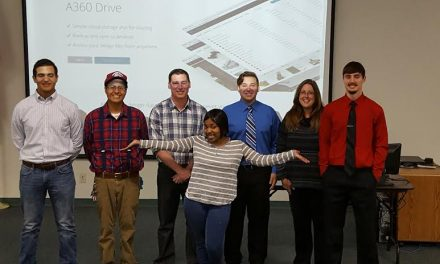 Paris Junior College Drafting Program Students Collaborate with Habitat for Humanity