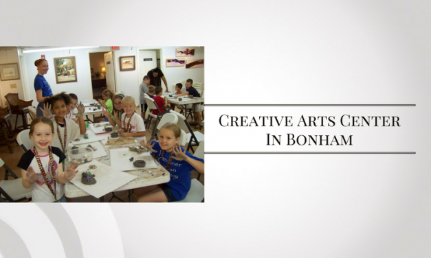 Summer Camps at the Creative Arts Center in Bonham