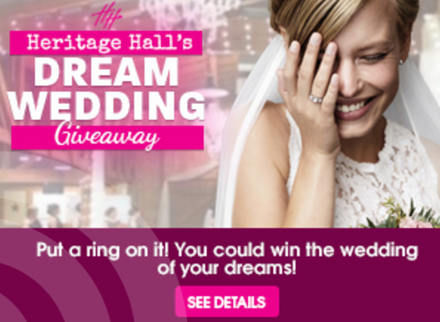 last chance to win your dream wedding