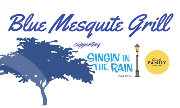 Greenville Family Theater Benefit at Blue Mesquite Grill Every Wednesday