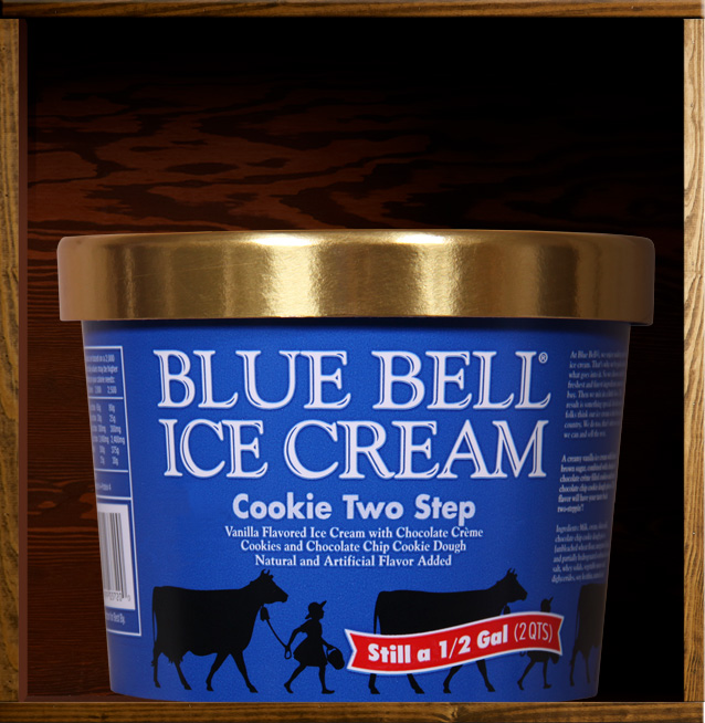 Texas blue bell brings back the cookie two step for Christmas cookie ice cream blue bell