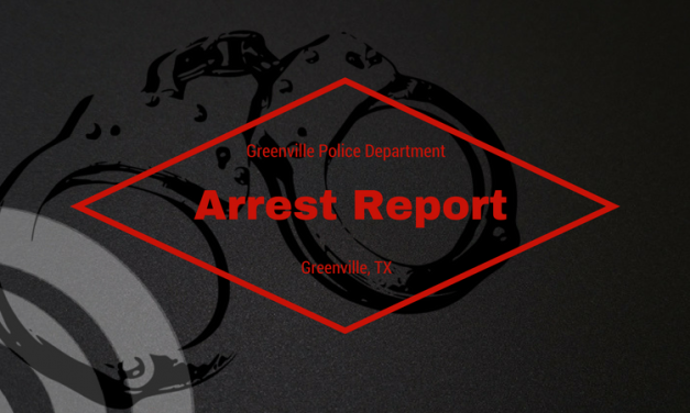 Greenville Police Department Arrest Report – October 19, 2017