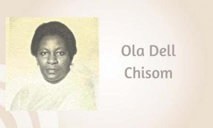 Ola Dell Chisom of Greenville