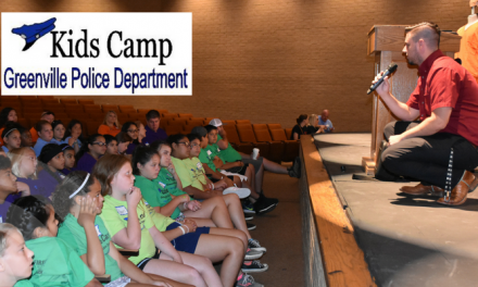 Kids Camp with the Greenville Police Department