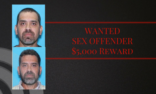 $5,000 reward offered for Texas 10 Most Wanted Sex Offender List