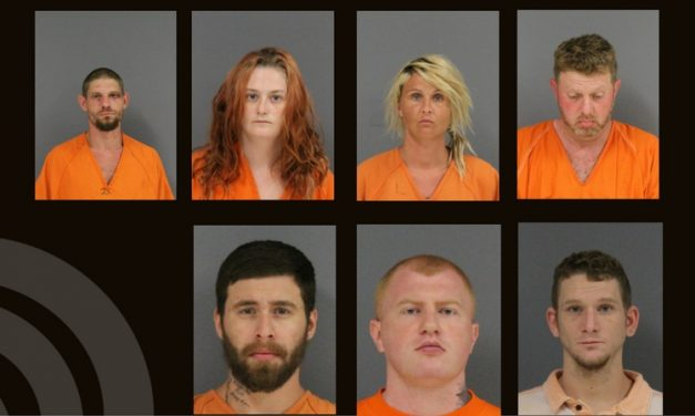 Hunt County Sheriff Inmate Booking Report – July 24, 2017