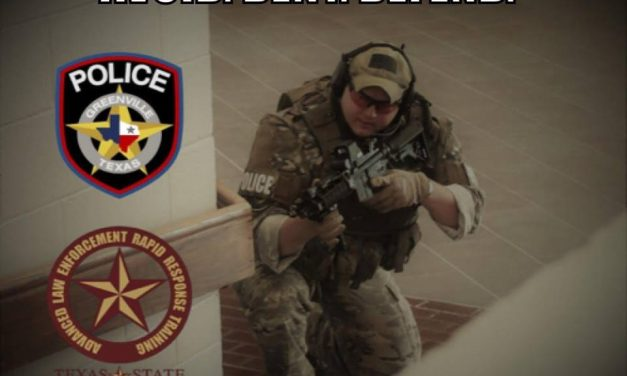 Greenville PD to host Civilian Response to Active Shooter Response course