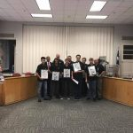 Iron Lions recognized at GISD School Board
