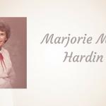 MarjorieMuir Hardin of Lone Oak
