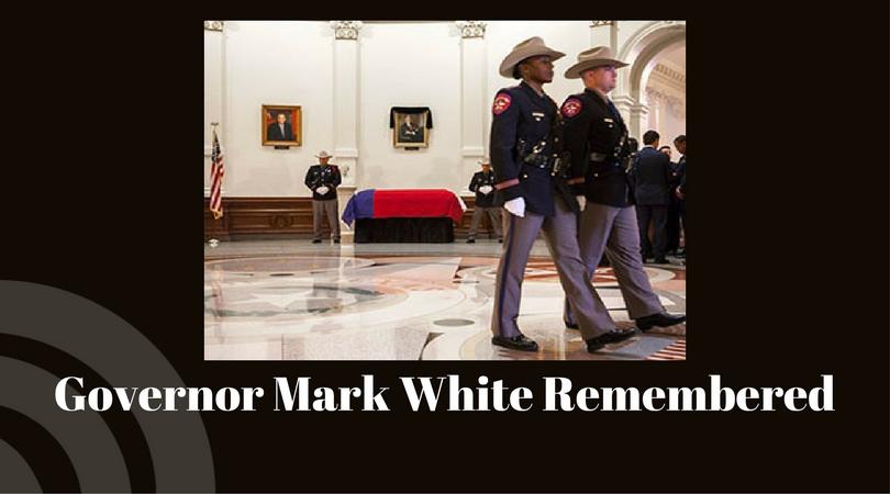 Texas Senate remembers Governor Mark White