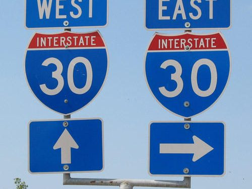I-30 Frontage Road Change Coming in Hunt County