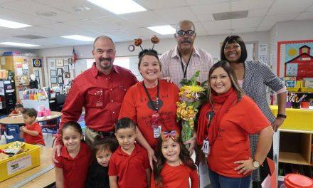 Greenville ISD recognizes Michelle Wilson