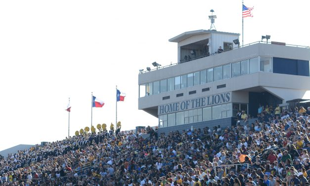 Kickoff of Lions vs. Angelo State moved up to 1 p.m. Saturday