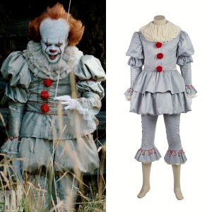 Next up the the Stephen King character from his hit horror movie u201cItu201d; meet Pennywise the clown. Actually Pennywise is the most coveted of costumes .  sc 1 st  eParisExtra.com & Most popular Halloween costumes 2017: Trump Pennywise Wonder Woman ...