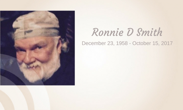 Ronnie D Smith of Garland, Texas