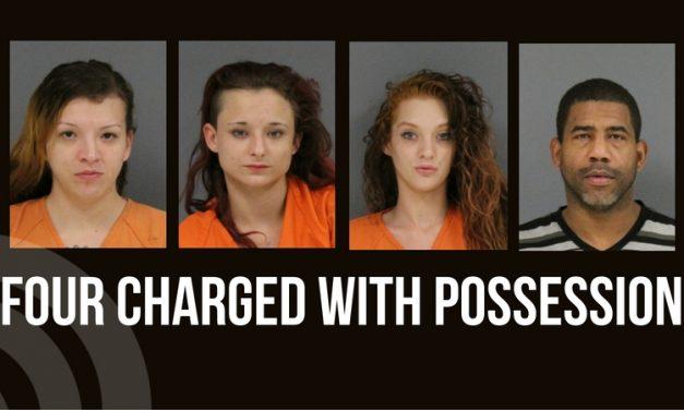 Four found in possession