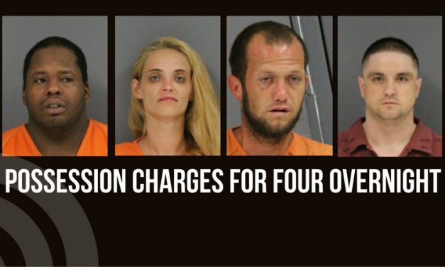 Possession charges for four