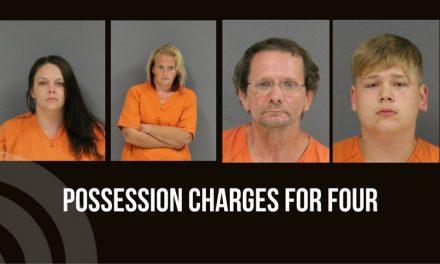 Four possession arrest – October 24, 2017