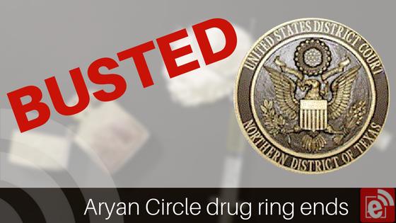 Aryan Circle drug ring busted near Lake Tawakoni