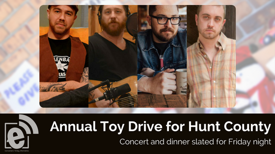 Annual Toy Drive to have big night at Texan Theater