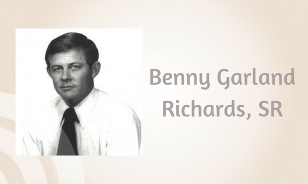 Benny Garland Richards, SR of Wolf City, Texas