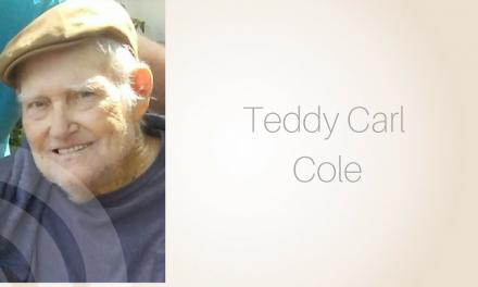Teddy Carl Cole of  Celeste, Texas