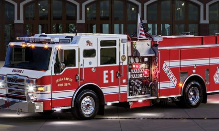 Fire Department gets new pumper truck – Fire Station 1 to open in 2018