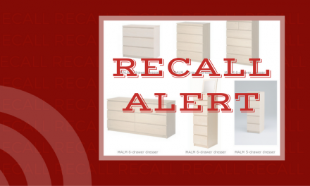 IKEA issues recall on chests and dressers for risk of death or injury