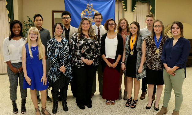 Honor Society Members Inducted at PJC