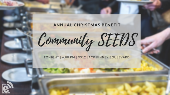 Community SEEDS annual Christmas dinner to benefit program