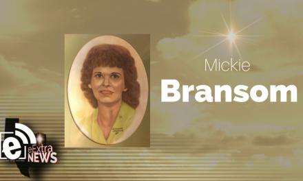 Mickie Bransom formerly of Huntsville, Arkansas