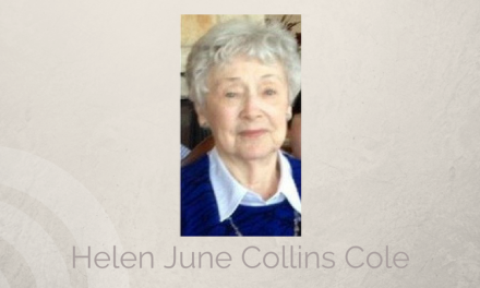 Helen June Collins Cole of Greenvile