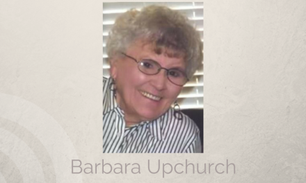 Barbara Upchurch of Farmersville, Texas