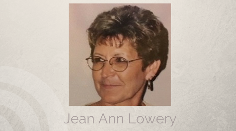Jean Ann Lowery of Farmersville, Texas