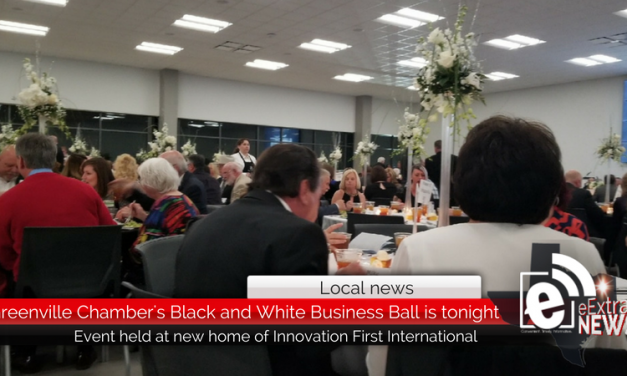 Locals celebrated at the annual Black & White Business Ball Thursday night