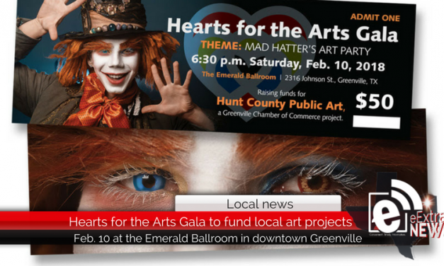 Hearts for the Arts Gala to fund local art projects