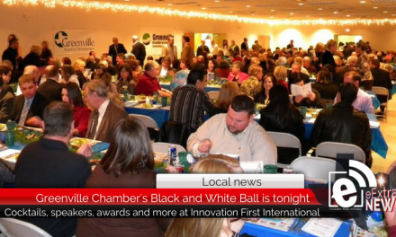 Greenville Chamber's Black and White Business Ball is today