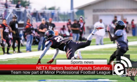 NETX Raptors football tryouts are Saturday