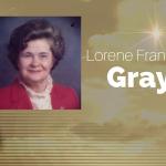 Lorene Frances Gray of Greenville, Texas