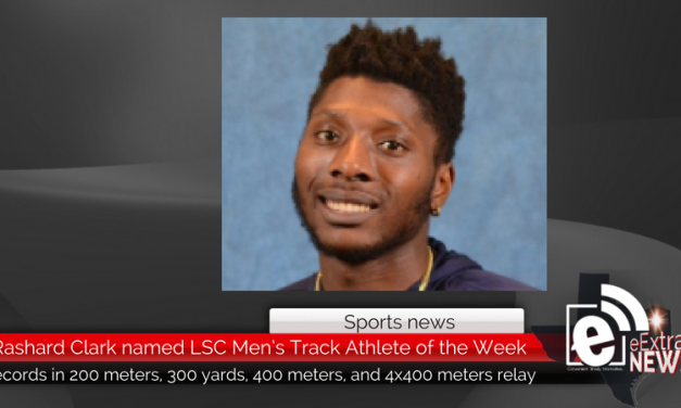 Rashard Clark named LSC Men's Track Athlete of the Week after breaking multiple school records