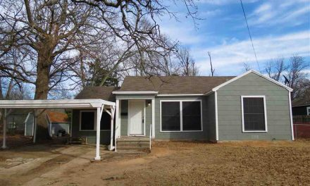 Move in ready, 3 bed 2 bath home