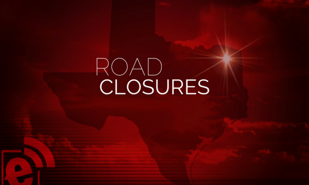 Roads are closing due to high flood waters